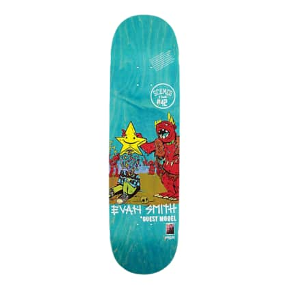 "Scumco & Sons Evan Smith Pinata Party 8.5"" Skateboard Deck"