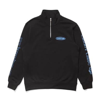 Culture Club 1/4 Zip (Black)