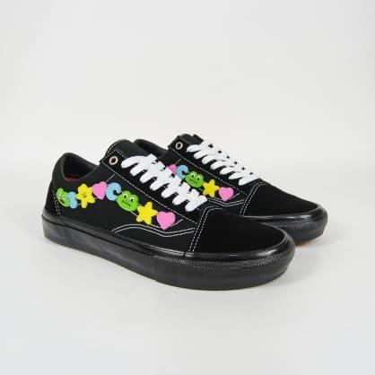 Vans - Frog Skate Old Skool LTD Shoes - Black / Black