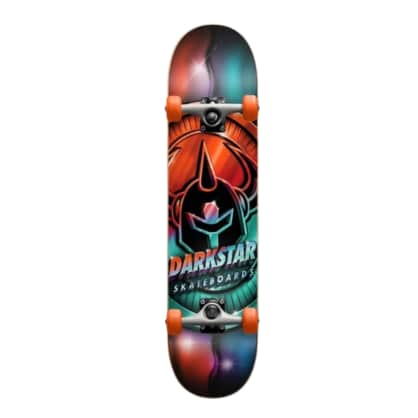 "DARKSTAR COMPLETE ANODIZE YOUTH FP SOFT WHEELS - 7.25"" MULTI"
