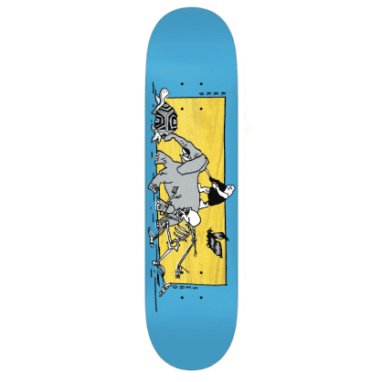 Krooked Skateboards Deck Sebo Marathon Blue/Multi 8.06""