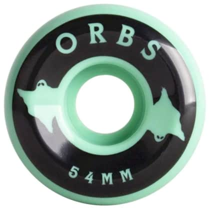 Orbs Specters Solid 99A Mint Wheels - 54mm