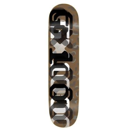 "GX1000 OG Leopard Camo Two Skateboard Deck - 8.375"""