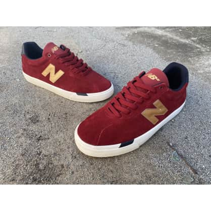 New Balance Numeric 22 Red/Gold