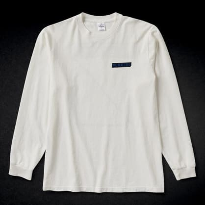 NUMBERS LOGOTYPE L/S TEE - WHITE