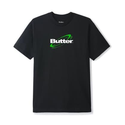 Butter Goods Technology Logo T-Shirt - Black