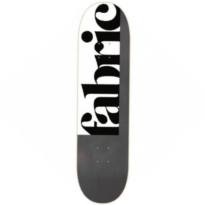 Fabric Skateboards - 1734 - Skateboard Deck - 8.75""