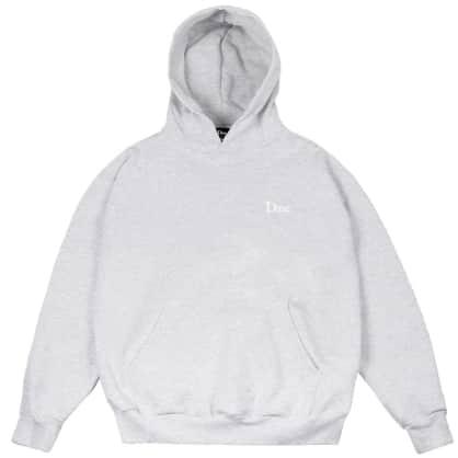 Dime Classic Small Logo Hoodie - Ash