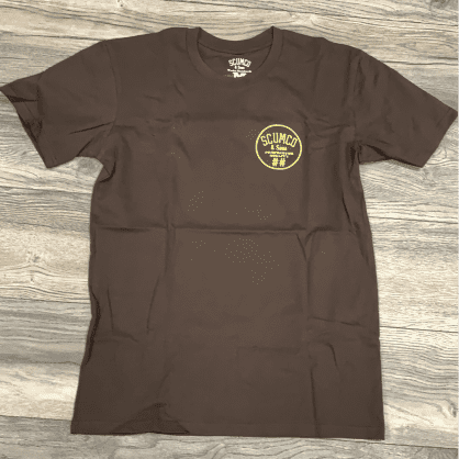 Scumco and Sons Tee Brown