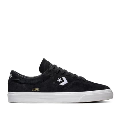 Converse CONS Louie Lopez Pro Ox Shoes - Black / Black / White