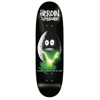 Heroin Skateboards Space Egg Deck 9.4""