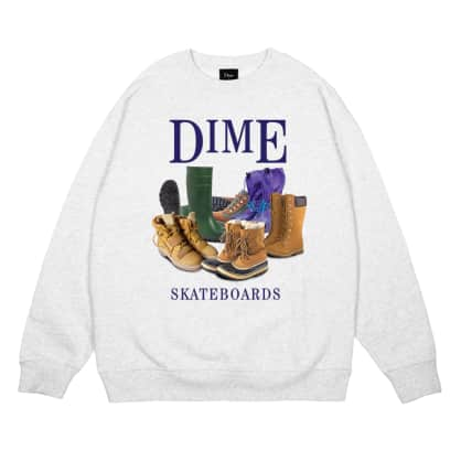 Dime Puddle Sweatshirt Ash Grey