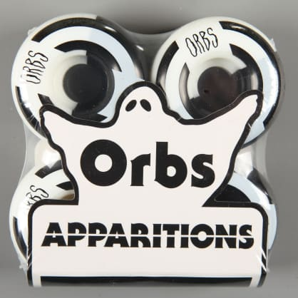 Orbs 'Apparitions Splits' 54mm 99A Wheels (Black / White)