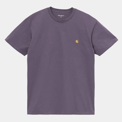Carhartt WIP Chase T-Shirt - Provence / Gold