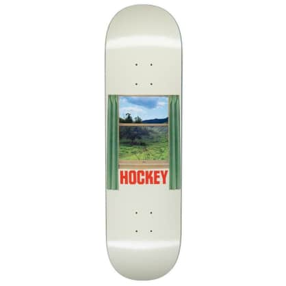 "Hockey ""Looking Glass "" Skateboard Deck 8.5"""