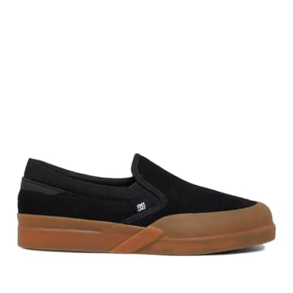 DC Infinite Slip-On Shoes (Kids) - Black / Gum