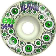 Heroin eye wheels 56mm