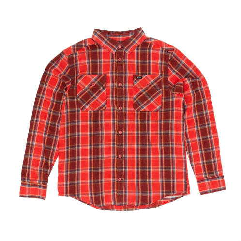 RVCA That'll Work Flannel Shirt - Baked Apple