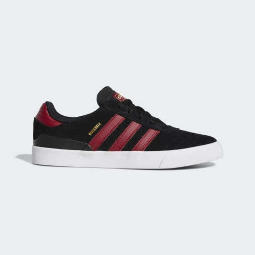 Adidas Busenitz Vulc Shoes - Core Black/Collegiate Burgundy/Cloud White