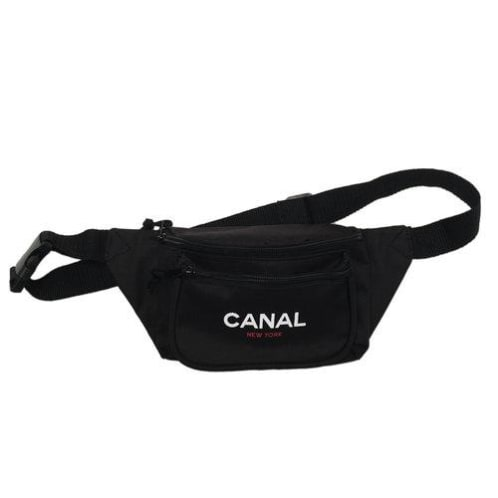 Canal New York - Canal New York Sport Pacc Hip Bag   Black