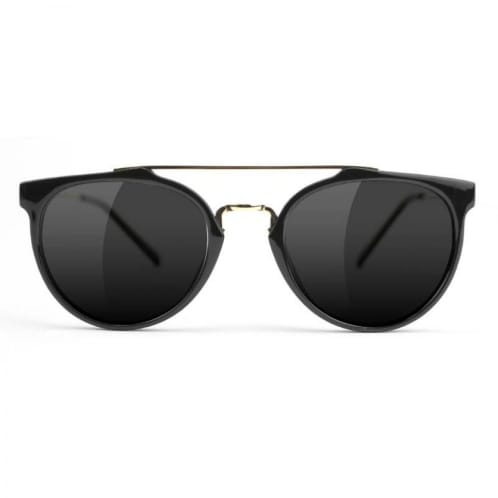Glassy - Glassy Chuck Sunglasses | Black & Gold