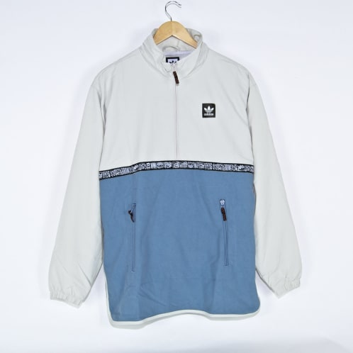 Adidas Skateboarding - Dakari Jacket - Raw White / Raw Grey