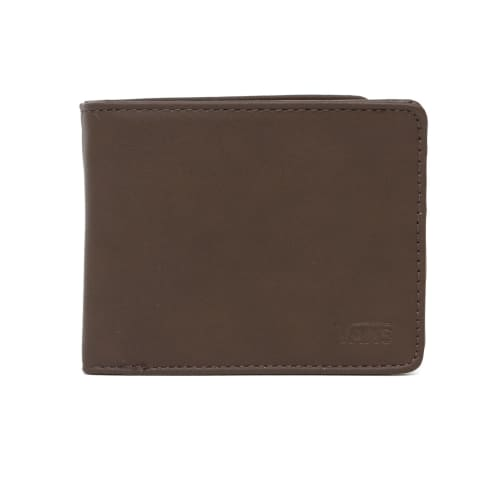 Vans Drop V Bi Fold Wallet - Dark Brown