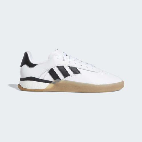 Adidas 3ST.004 Shoes - Cloud White/Core Black/Gum