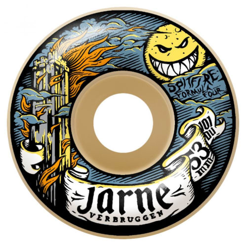 Spitfire Wheels - Jarne Moonshine Classics Formula Four Wheels 53mm