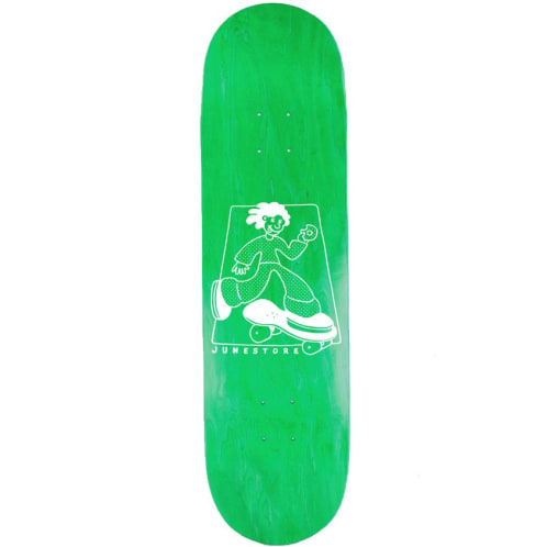 June - Wavey Skate Deck - 8.25""