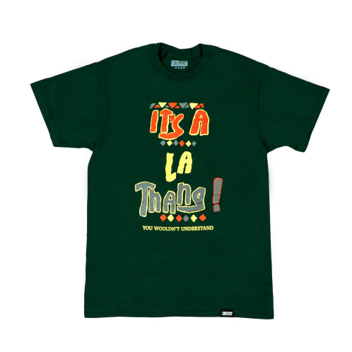 Lost Art - Lost Art -It's a LA Thang Tee Forest Green