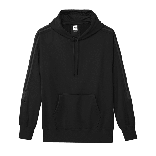 Adidas Tech Hooded Sweatshirt - Black/Carbon
