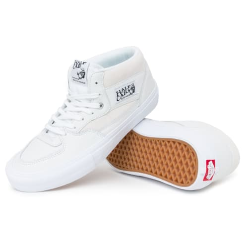 Vans Half Cab Pro Leather Shoes - White