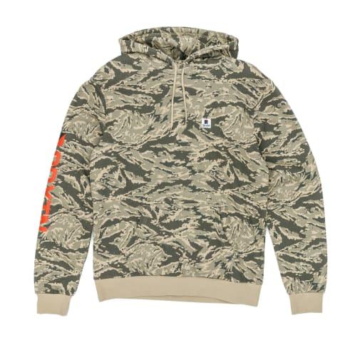 Brixton Stowell Intl Hooded Sweatshirt - Digi Tiger Camo