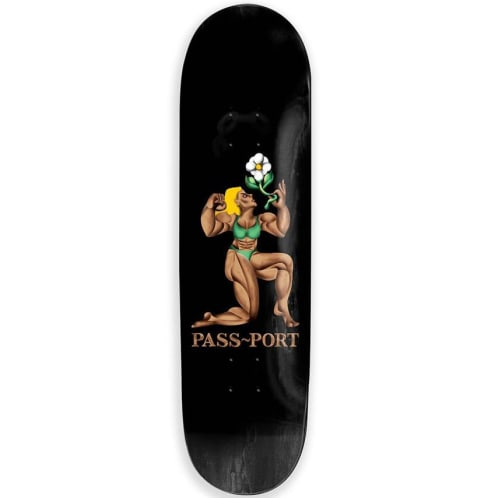 Pass~Port - Flower Deck (Black) - 8.25""