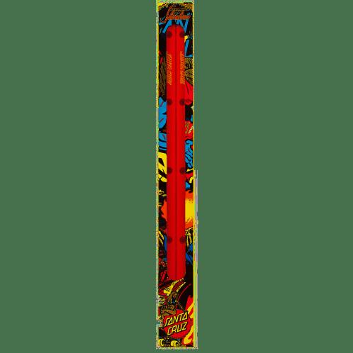 Santa Cruz Cell Block Slimeline Rails - Red