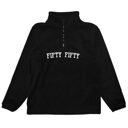 Fifty Fifty College Fleece Black