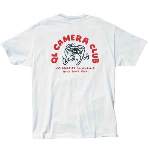The Quiet Life Camera Hands Tee - White