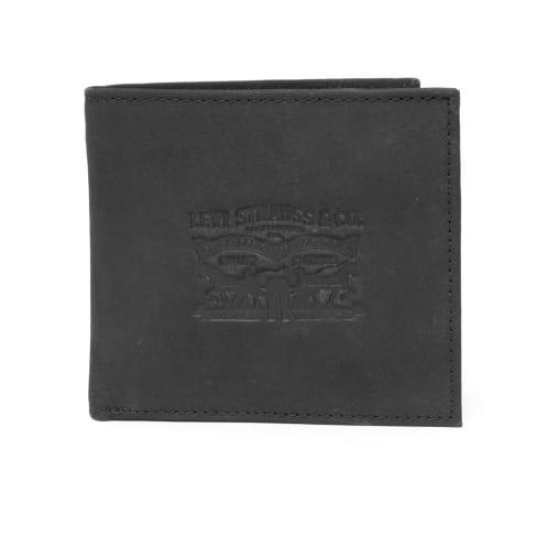 Levis Vintage Two Horse BiFold Coin Wallet - Black