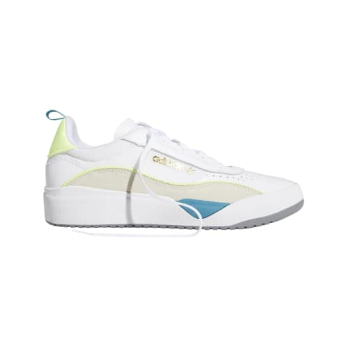 adidas Liberty Cup Skateboarding Shoe - Cloud White/Chalk White/Hi-Res Yellow