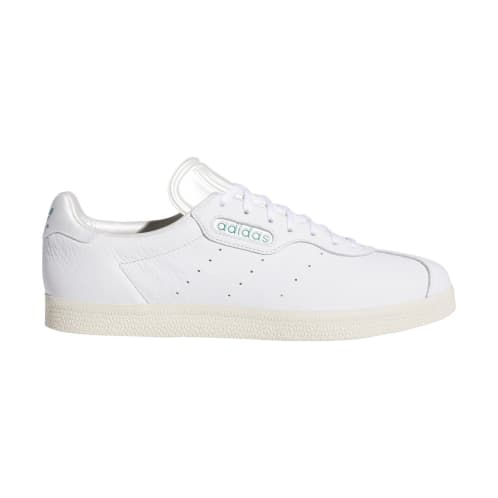 adidas x Alltimers Gazelle Super Skateboard Shoes - FTWR White/FTWR White/Chalk White