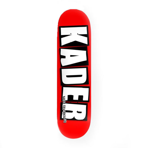 Baker Skateboards Kader Sylla Pro Logo Deck - Red/Black