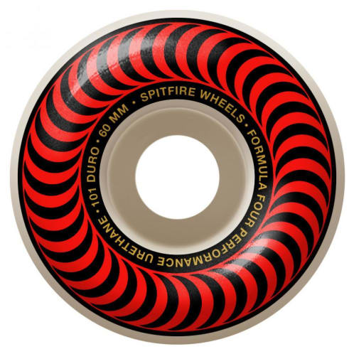Spitfire Formula Four Classic Wheels red/bronze 101DU 60mm