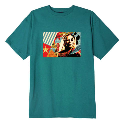 Obey Welcome Visitor - Teal