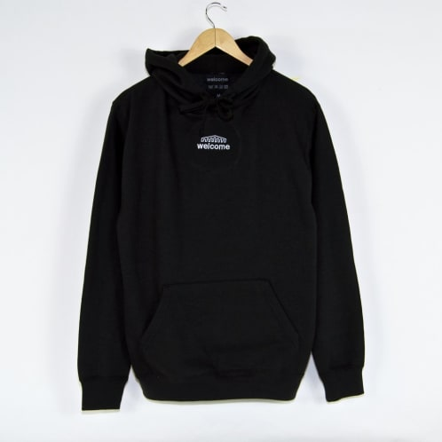 Welcome Skate Store - Arch Pullover Hooded Sweatshirt - Black