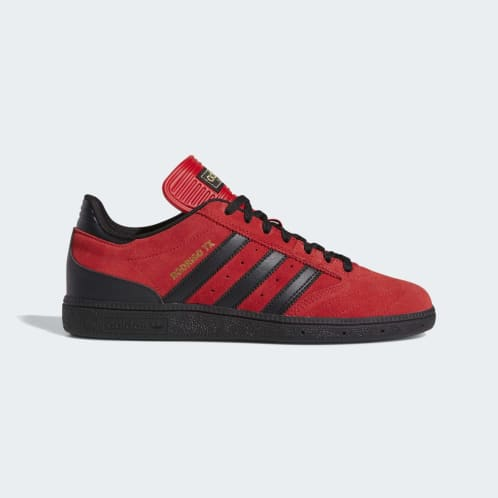 Adidas Busenitz Shoes - Scarlett/Core Black/Gold Metallic
