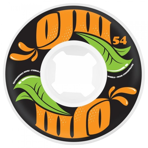 OJ From Concentrate 101a EZ Edge Wheel - White 54mm
