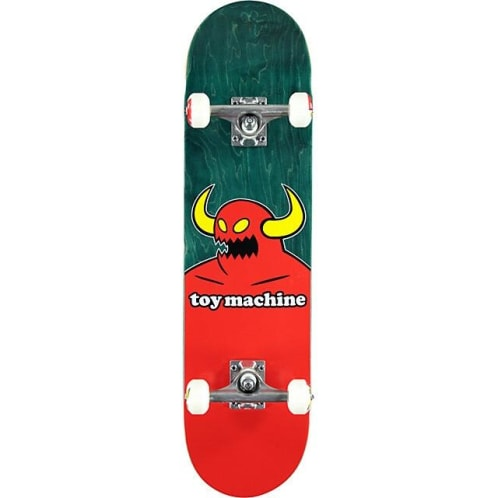 """Toy Machine - 8.0"""" Monster Complete Skateboard (Various Stains)"""
