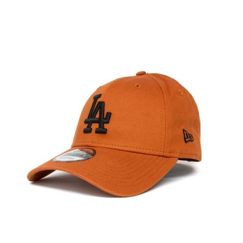 New Era League Essential Los Angeles Dodgers 9FORTY Cap - Rust/Black