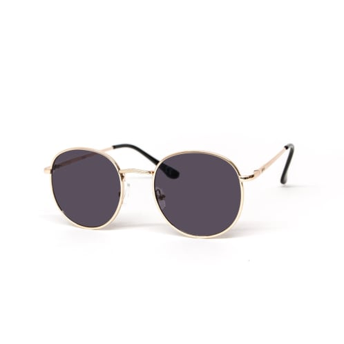 Glassy Sunhaters Ridley Sunglasses - Gold/Black